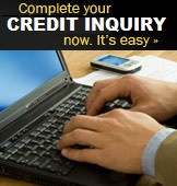 Complete your Credit Inquiry now, It's easy!