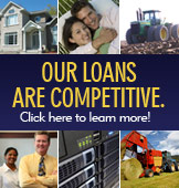 Our Loans Are Competitive. Click here to learn more!